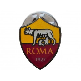 AS ROMA LOGO SPILLA METAL PIN