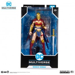 DC MULTIVERSE LKOE WONDER WOMAN WITH HELMET OF FATE ACTION FIGURE MC FARLANE