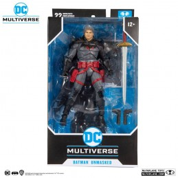 DC MULTIVERSE FLASHPOINT BATMAN UNMASKED ACTION FIGURE MC FARLANE