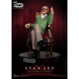 STAN LEE THE KING OF CAMEOS MASTER CRAFT 33CM STATUA FIGURE BEAST KINGDOM