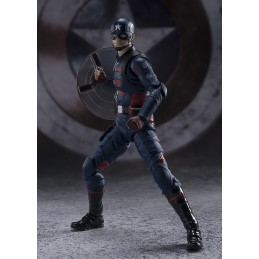 THE FALCON AND THE WINTER SOLDIER CAPTAIN AMERICA S.H. FIGUARTS ACTION FIGURE BANDAI