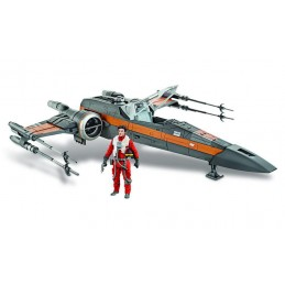 HASBRO STAR WARS X-WING FIGHTER POE DAMERON ACTION FIGURE