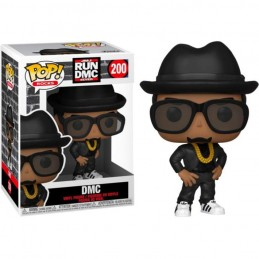 FUNKO POP! ROCKS DMC BOBBLE HEAD KNOCKER FUNKO