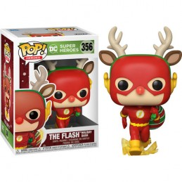 FUNKO POP! THE FLASH HOLIDAY DASH BOBBLE HEAD KNOCKER FIGURE FUNKO