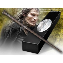 NOBLE COLLECTIONS HARRY POTTER WAND FENRIR GREYBACK REPLICA BACCHETTA