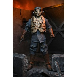IRON MAIDEN ACES HIGH CLOTHED EDDIE ACTION FIGURE NECA