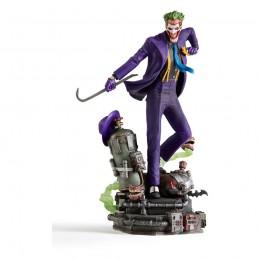 DC COMICS THE JOKER DELUXE ART SCALE 1/10 STATUA FIGURE IRON STUDIOS