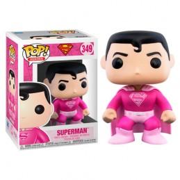 FUNKO POP! SUPERMAN BREAST CANCER AWARENESS BOBBLE HEAD FIGURE FUNKO