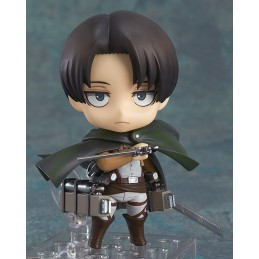 GOOD SMILE COMPANY ATTACK ON TITAN LEVI NENDOROID ACTION FIGURE