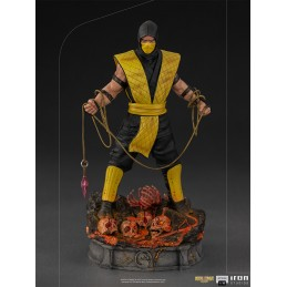 IRON STUDIOS MORTAL KOMBAT SCORPION ART SCALE 1/10 STATUE FIGURE