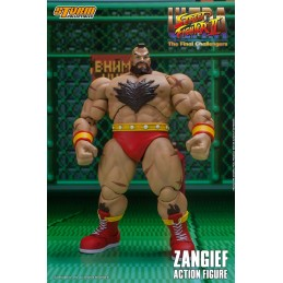 STORM COLLECTIBLES ULTRA STREET FIGHTER II ZANGIEF 1/12 ACTION FIGURE