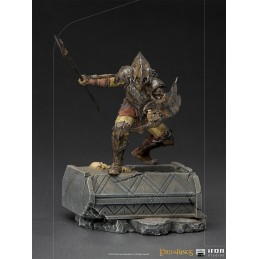 LORD OF THE RINGS ARMORED ORC ART SCALE 1/10 STATUA FIGURE IRON STUDIOS