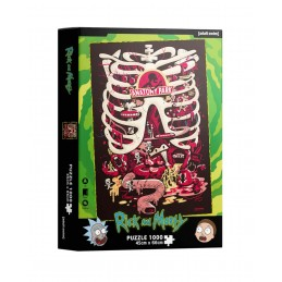 SD TOYS RICK AND MORTY ANATOMY PARK 1000 PCS PUZZLE 48x60cm