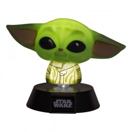 STAR WARS THE MANDALORIAN 3D LAMP ICON THE CHILD LIGHT 10CM LAMPADA FIGURE PALADONE PRODUCTS