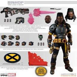 MEZCO TOYS X-MEN BISHOP ONE:12 COLLECTIVE ACTION FIGURE