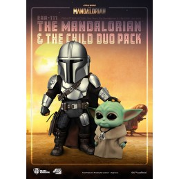 BEAST KINGDOM THE MANDALORIAN AND THE CHILD EGG ATTACK ACTION FIGURE