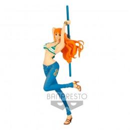 BANPRESTO ONE PIECE LADY FIGHT!! NAMI 20CM STATUE FIGURE