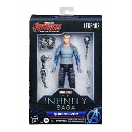 MARVEL LEGENDS AVENGERS THE INFINITY SAGA QUICKSILVER ACTION FIGURE HASBRO