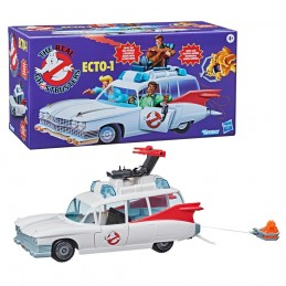 THE REAL GHOSTBUSTERS KENNER CLASSICS - ECTO-1 MODEL FIGURE HASBRO