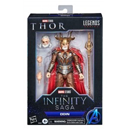 MARVEL LEGENDS THE INFINITY SAGA THOR ODIN ACTION FIGURE HASBRO