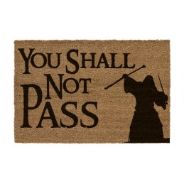 SD TOYS THE LORD OF THE RINGS YOU SHALL NOT PASS DOORMAT ZERBINO TAPPETINO