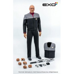 STAR TREK FIRST CONTACT CAPTAIN JEAN-LUC PICARD 30CM ACTION FIGURE SIDESHOW