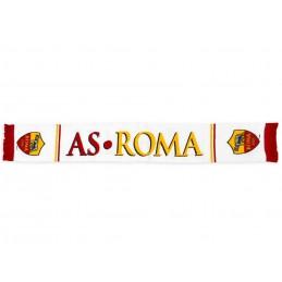 SCIARPA SCARF AS ROMA UFFICIALE BIANCA BANDINE