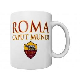 AS ROMA ROMA CAPUT MUNDI MUG TAZZA CERAMICA