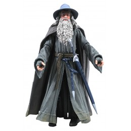 DIAMOND SELECT THE LORD OF THE RINGS SELECT GANDALF ACTION FIGURE