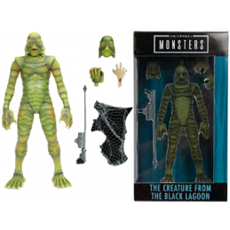 JADA TOYS UNIVERSAL MONSTERS THE CREATURE FROM THE BLACK LAGOON ACTION FIGURE