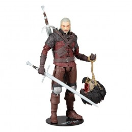 MC FARLANE THE WITCHER 3 WILD HUNT GERALT OF RIVIA WOLF ARMOR 18CM ACTION FIGURE