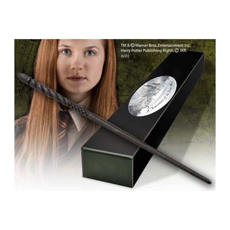 NOBLE COLLECTIONS HARRY POTTER WAND GINNY WEASLEY REPLICA BACCHETTA