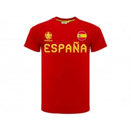 MAGLIA T SHIRT UFFICIALE UEFA EURO 2020 ESPANA