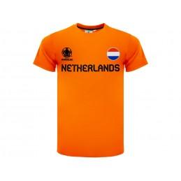 MAGLIA T SHIRT UFFICIALE UEFA EURO 2020 NETHERLANDS