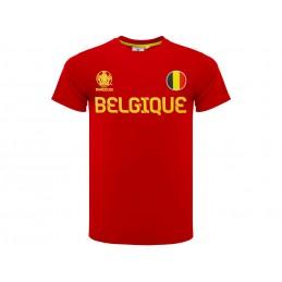 MAGLIA T SHIRT UFFICIALE UEFA EURO 2020 BELGIO