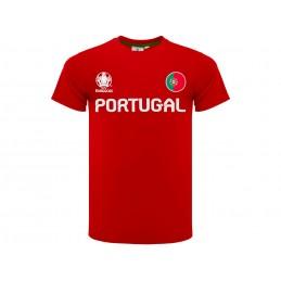 MAGLIA T SHIRT UFFICIALE UEFA EURO 2020 PORTUGAL