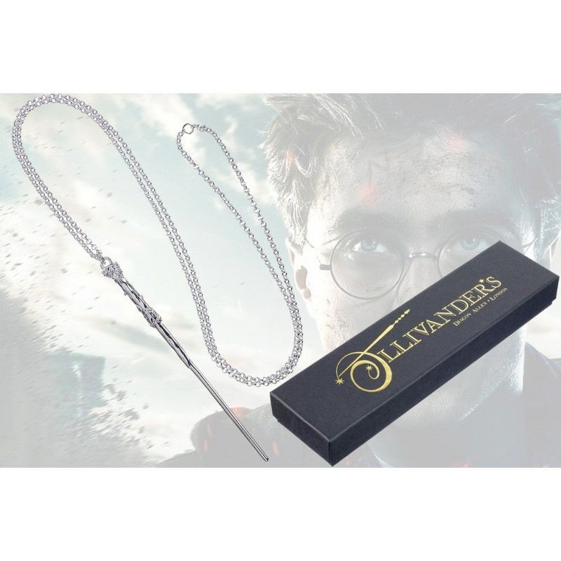 HARRY POTTER HARRY WAND NECKLACE CIONDOLO BACCHETTA