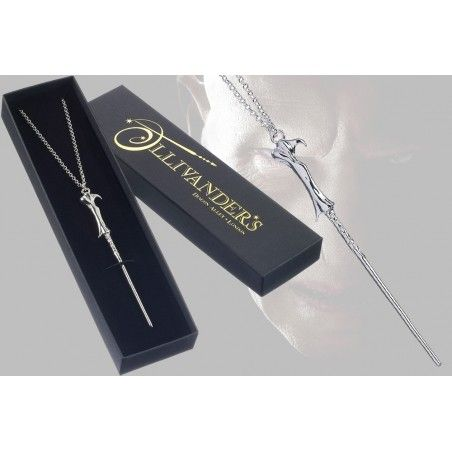 HARRY POTTER VOLDEMORT WAND NECKLACE CIONDOLO BACCHETTA