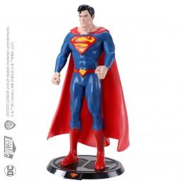 DC COMICS SUPERMAN BENDYFIGS ACTION FIGURE NOBLE COLLECTIONS
