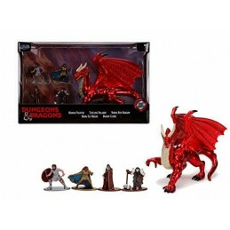 JADA TOYS DUNGEONS & DRAGONS NANO CHARACTERS DIE CAST PACK 5 MINI FIGURES
