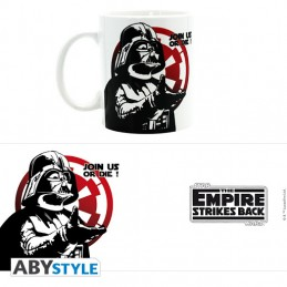 STAR WARS DARTH VADER JOIN US OR DIE MUG TAZZA IN CERAMICA ABYSTYLE