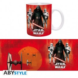STAR WARS KYLO REN AND FIRST ORDER MUG TAZZA IN CERAMICA ABYSTYLE