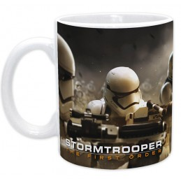 STAR WARS STORMTROOPER THE FIRST ORDER MUG TAZZA IN CERAMICA ABYSTYLE