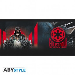 STAR WARS ENLIST NOW THE GALACTIC EMPIRE MUG TAZZA IN CERAMICA ABYSTYLE