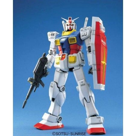 MASTER GRADE MG GUNDAM RX-78-2 VER. 1.5 1/100 MODEL KIT ACTION FIGURE
