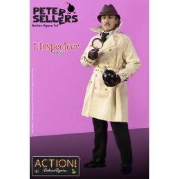 INFINITE STATUE INSPECTEUR JACQUES CLOUSEAU PETER SELLERS 1/6 ACTION FIGURE