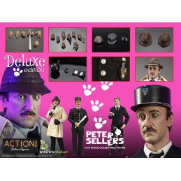 INFINITE STATUE JACQUES CLOUSEAU PETER SELLERS DELUXE 1/6 ACTION FIGURE
