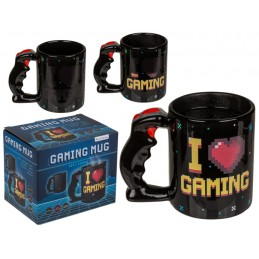 OUT OF THE BLUE I LOVE GAMING HEATING CERAMIC MUG