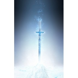 BANDAI SWORD ART ONLINE THE BLUE ROSE SWORD SPADA PROPLICA