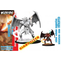 DUNGEONS AND DRAGONS NOLZUR'S BALOR GIANT SIZED MINIATURE WIZKIDS